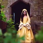 Photograph of Anne Boleyn in 'Anne Boleyn' by Howard Brenton (2017). Photo by Ashleigh Cadet.