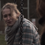 Screenshot of Young Sarah in 'A Day Like Today' by Neil Jeffreys (2015). Film by Wild Edric Media.
